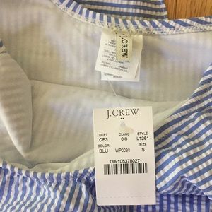 J. Crew Swim - NWT Jcrew swimsuit seersucker